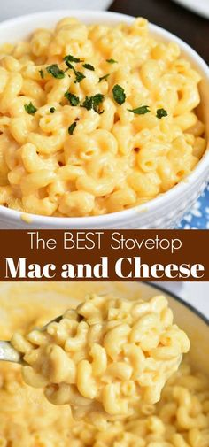 Easy Homemade Mac and Cheese - Just a Few Minutes to Comforting Dinner Stovetop Mac And Cheese, Macaroni Cheese Recipes, Mac And Cheese Homemade, 3 Cheese Mac And Cheese Recipe, Simple Mac And Cheese, Creamy Macaroni And Cheese, Macaroni Pasta, Best Mac And Cheese Recipe For Kids, Homemade Macoroni And Cheese