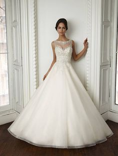 MGNY 51022 wedding dress at Glamourous Gowns.