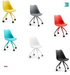 Vedi la sedia girevole più vivace e colorata per la cameretta della tua casa. ...