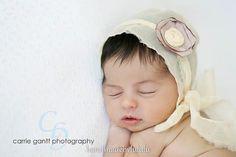 baby bonnet simply from pastel yellow chiffon by handmadebylululu, $29.00