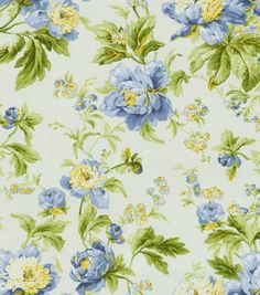 Home Decor Fabric-Waverly Metamorphosis Forever Yours Bluebell at Joann.com