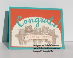 Bunch of Bears Card; for more details please refer to my blog: http://kellyscreativecorner.com/2016/01/05/a-bunch-of-bears-oh-my/