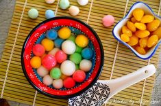 How to Make Sweet Glutinous Rice Balls
