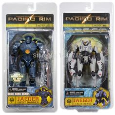 59.99$  Buy here  - Hot Pacific Rim Jaeger Gipsy Danger + Tacit Ronin Classic Sci-Fi Movie 18CM Action Fiture Toys New Box