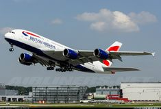 British Airways, Airbus A380-841 aircraft picture