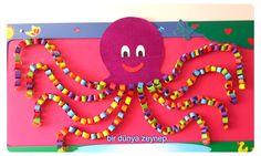 gözde öğretmenimin kocaman rengarenk ahtapotu... teşekkür ederiz bizimle paylaştığı için...