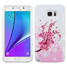 MYBAT TUFF Hybrid Samsung Galaxy Note 5 Case - Spring Flowers