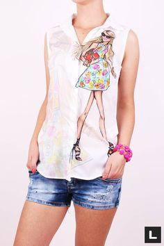 Dámska blúzka 1 Floral Tops, Women, Fashion, Moda, Top Flowers, Women's, La Mode, Fasion, Fashion Models