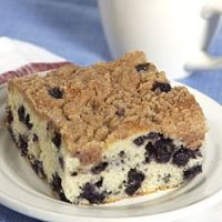 Just like Hobbee's blueberry coffee cake- brings back memories