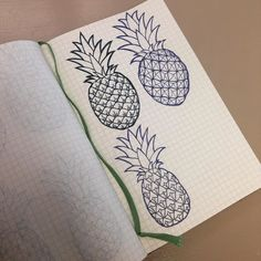 Process for my pineapple print: I sketched pineapples over and over and over... Here's just one page. #freetheory #artistic #artoftheday #artjournal #artwork #artist #art #draw365 #drawdaily #dailydraw #draw #sketch #sketchbook #artcall #artnews #artshow #artwork #color #colour #creative #drawing #drawings #illustration #ink #markers #myart #onlineart #sketch #moleskine #micron #sharpie by freetheory