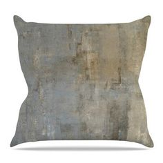 KESS InHouse Overlooked by CarolLynn Tice Throw Pillow Size: