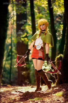 Linkle - Zerggiee Cosplay |  #HyruleWarriorsLegends - Using Aradani Studios Anime ears