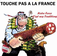 on ne touche pas à nos traditions France, Lol, Humor, Comme, Funny Stuff, Invitations, Pranks, Good Mood, Funny Pictures