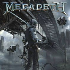 New Megadeth album cover. DYSTOPIA will be out in Jan 2016. Woohoo!