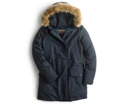 Discovered: A Winter-proof Parka at J.Crew