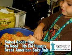 Baked Goods That Do Good: Find out more about the Great American Bake Sale on The Good Long Road