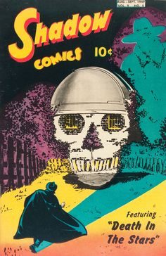 cover by Bob Powell, 1949, from my Popular Skullture book review...