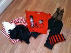 Yasmin Elizabeth: DIY tutorial for Easy boys pirate costume (under £7)