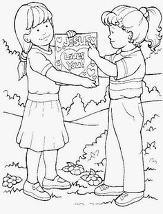 coloring pages rich young ruler - photo#21