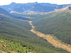 Evelyn Creek from Bald Hills Trail, Jasper Day Hike