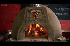 Home made Pizza oven from James May @ the BBC