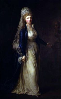 """Princess Louise Augusta"" by Anton Graff (1791)"