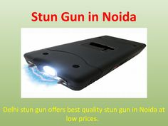 Get latest self defense stun gun in Noida at low prices with one year replacement guarantee. We deal in only high class and branded products. The stun gun gave great features like it is rechargeable safety device. Small size and light weight. Easy to use. These guns are manufactured with best alloy metal with shock free PVC material coating. These guns are design in way that nobody suspect that you have a very powerful safety device.