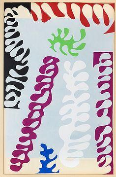 """Henri Matisse France 1869-1954  """"Le lagon"""", ur: """"Jazz"""". (d)  Pochoir in colours, 1947. Published by Tériade, Paris. S. 42 x 65 cm."""