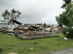 Tropical Depression Beryl's real wrath was felt in the form of a tornado that took out homes.