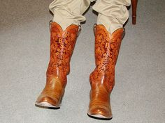 Jack Reed Boots with tops by Bob Dellis.