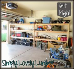 Simply Lovely Lumber: Garage Storage Love