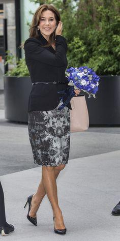 La princesa Mary preside la reunión del Comité de la OMS para Europa con sede en Dinamarca - 15/9/2014
