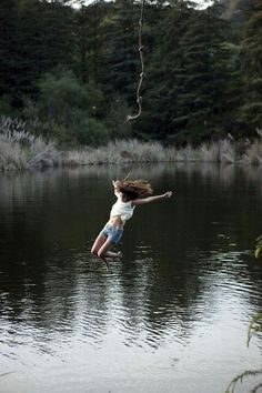 nothing better than a well placed rope swing