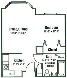 700 Sq Ft Apartment a1 beds:1 baths:1 sq. ft.:700 deposit:$100 rent:$449 everything