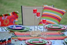 Host a Summer Outdoor Oasis Party! Decorating Inspiration, Tablescape Ideas and a Summer Party Menu