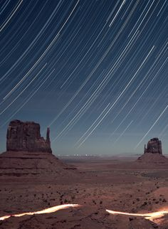 """""""There is one glory of the sun, and another glory of the moon, and another glory of the stars; for star differs from star in glory."""" 1 Corinthians 15:41esv (That's Monument Valley - Utah by RickrPhoto)"""