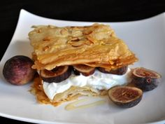 (Fig Phyllo Breakfast Stacks) i choose this because this is the perfect thing to wake up too. and it also has honey