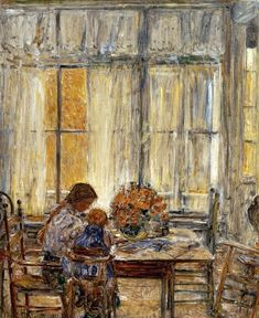 """The Children""  Childe Hassam"
