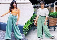 🎩mesma calça, mesmo tênis (quase a mesma pose! hahaha) e looks tão diferentes, né?! ⠀⠀⠀⠀⠀⠀⠀⠀⠀ uma blusa, a maneira como arrumamos cabelo...…