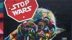 Star Wars Graffiti & Street Art From Around The World Graffiti Art, Kobra Street Art, Art In Miami, Miami Street Art, Miami City, Downtown Miami, Urbane Kunst, Films Cinema, Amazing Street Art