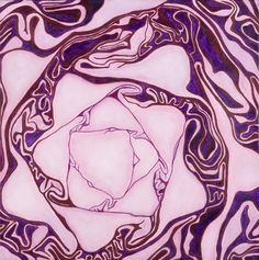 "Saatchi Art Artist Garry McMichael; Painting, ""Red Cabbage"" #art"