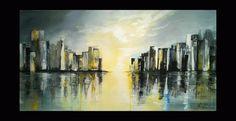 Luce avvolgente h100x200 - Quadri Astratti Moderni Di Durbano Irene - vedita online Pittura acrilica