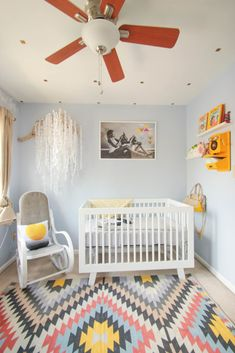 A Native American Nursery For Baby Phoenix