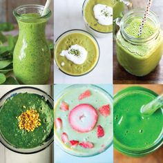20 Greatest Green Smoothie Recipes Short on time, but still want to sneak plenty of healthy foods into your day? Try one of these 20 greatest green smoothie recipes!