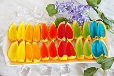 2020 Wedding Trends: 20 Charcuterie Board or Table Ideas Jelly Candy Recipe, Happy Foods, Frozen Birthday, Party Snacks, Candy Recipes, Kids Meals, Birthday Parties, Mango, Good Food