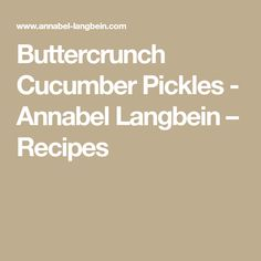 Hundreds of quick and easy recipes created by Annabel and her online community. Quick Easy Meals, Pickles, Easy Recipes, Cucumber, Food, Long Legs, Easy Keto Recipes, Easy Food Recipes, Simple Recipes