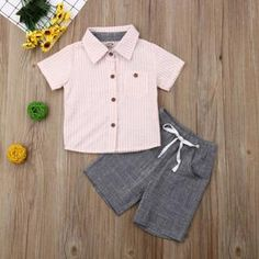 Department Name: ChildrenItem Type: SetsMaterial: CottonGender: BoysCollar: O-NeckFit: Fits true to size, take your normal size Baby Boy Outfits, Kids Outfits, Summer Outfits, Toddler Fashion, Boy Fashion, Pink Kids, Simple Dresses, Latest Fashion Trends, Cool Kids