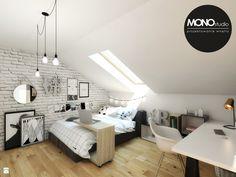 Pokój nastolatki - zdjęcie od Monostudio Wnętrza - Pokój dziecka - Styl Industrialny - Monostudio Wnętrza