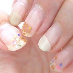 summer shell nail