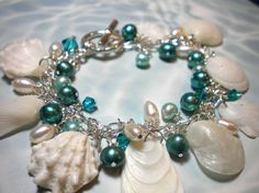 gorgeous seashell bracelet